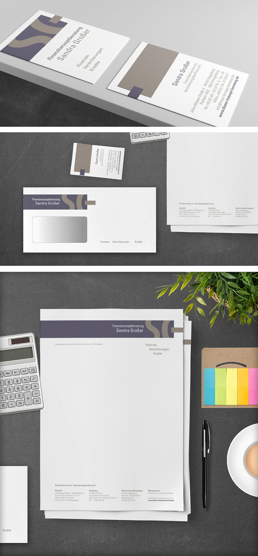 Sandra Grosser – Corporate Design