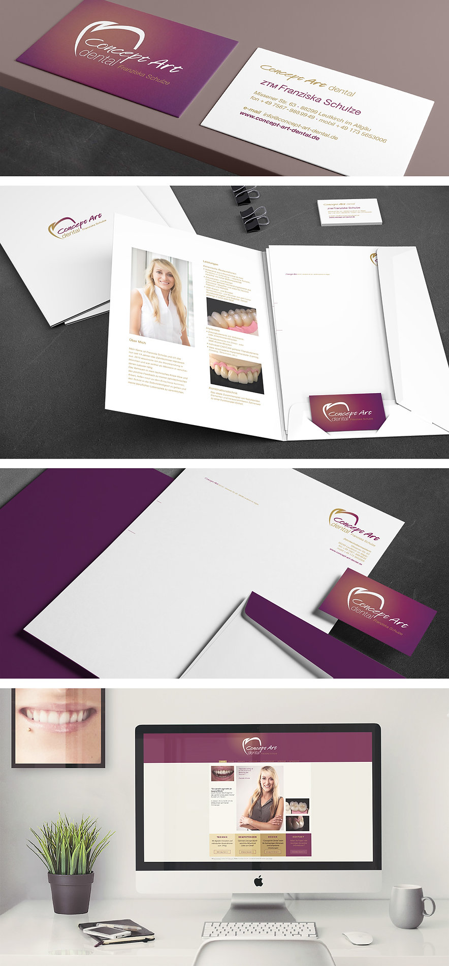 Corporate Design Franziska Schulze