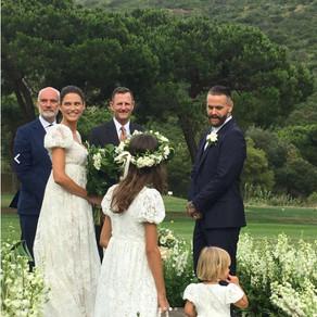 Bianca Balti sposa da sogno in Dolce&Gabbana