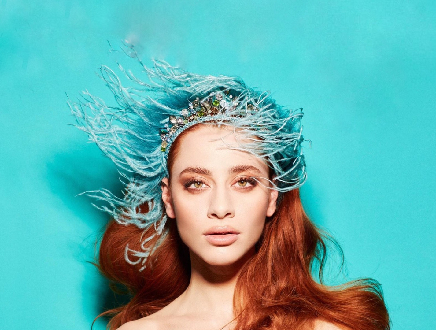 ALCA Ostrich Headband