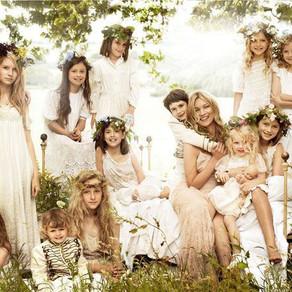 Il matrimonio boho-chic di Kate Moss