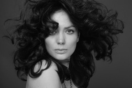 photo LORENZO MARCUCCI makeup & hair ELISA RAMPI