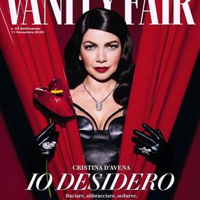 COVER story   CRISTINA D'AVENA for Vanity Fair