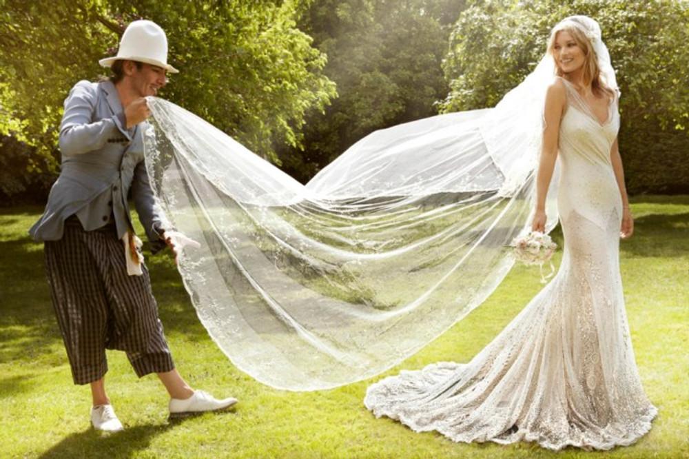John Galliano e Kate Moss