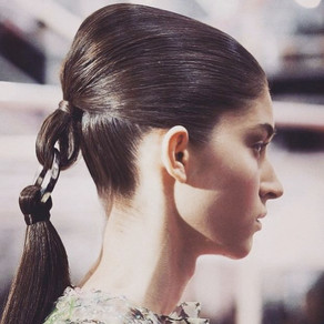 Haute Couture ss'15 | Christian Dior .. ponytail 2.0
