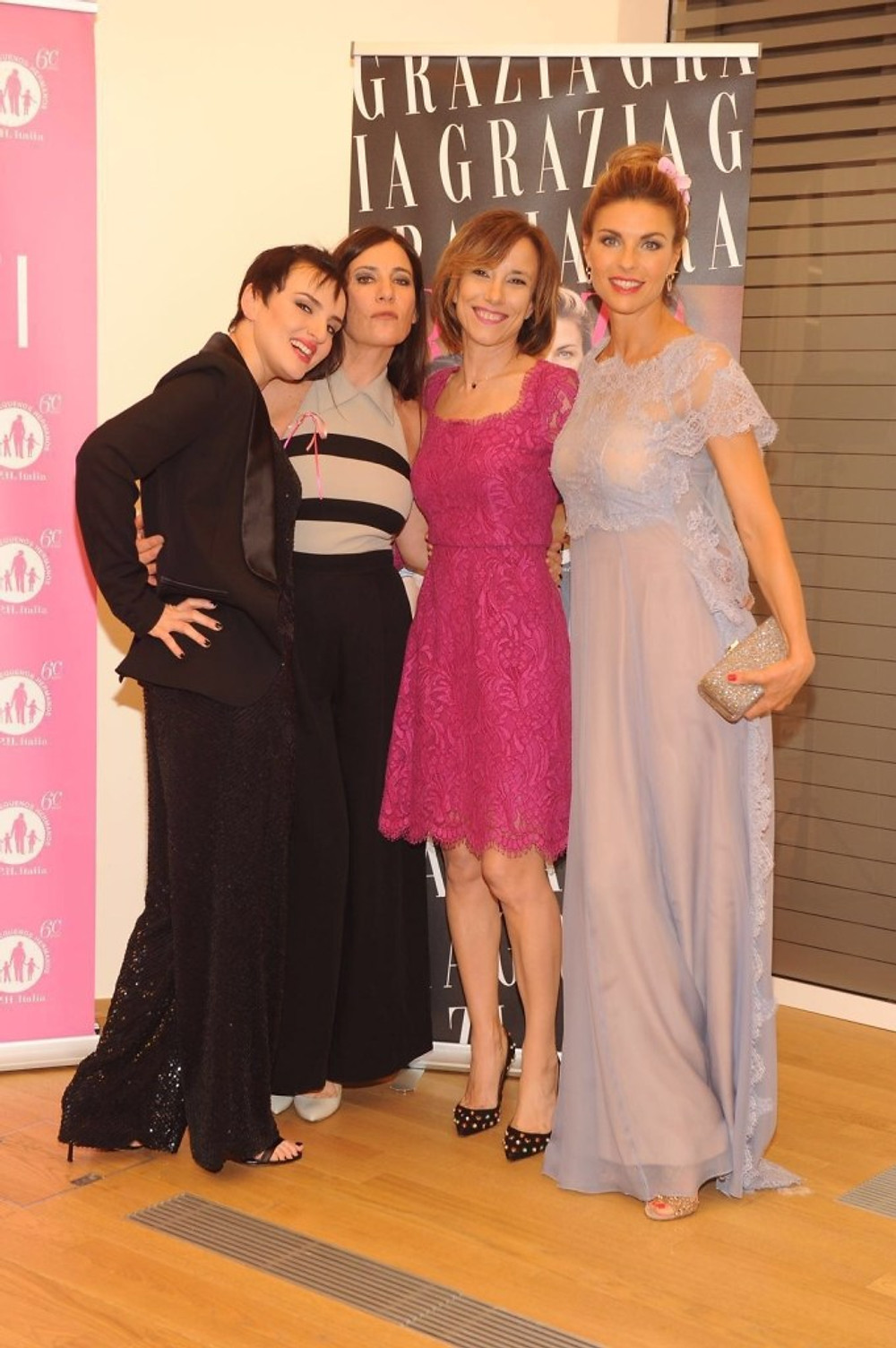 Arisa, Paola Turci, Silvia Grilli e Martina Colombari