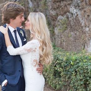 Martina Stella : meravigliosa sposa moderna e romantica
