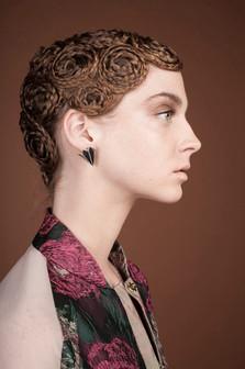 photo LORENZO MARCUCCI style LEONARDO PERSICO makeup & hair ELISA RAMPI