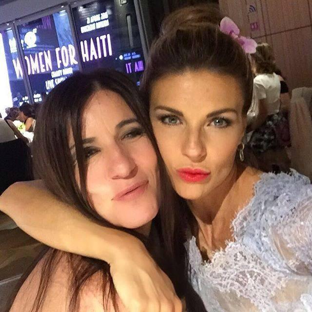 Paola Turci e Martina Colombari