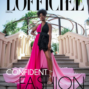COVER Story   PAOLA LOCATELLI for L'Officiel Arabia