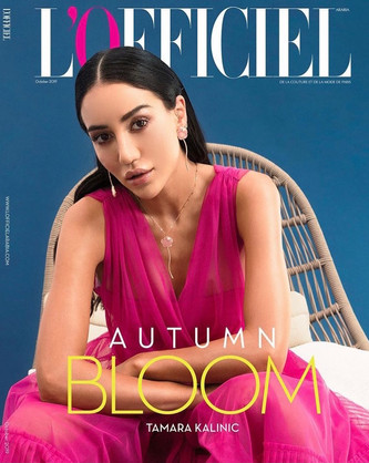 L'OFFICIEL Arabia October 2019 issue  Fashion Director Ameni Shafik Photo Raffaele Grosso #ELISARAMPIHAIR #ELISARAMPIMAKEUP