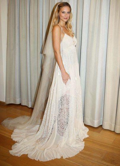 Bar Refaeli wedding dress