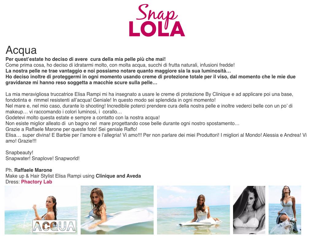 Snap LOLA