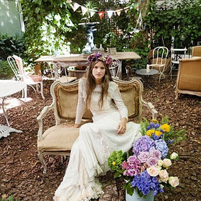 New Bride is Boho-Chic