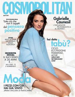 GABRIELLE CAUNESIL for Cosmopolitan Italy  #ELISARAMPIHAIR #ELISARAMPIMAKEUP