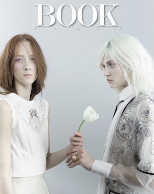 BOOK WOMAN Photo Lorenzo Marcucci Style Sabrina Mellace Makeup Patrizia del Curatolo Hair Elisa Rampi