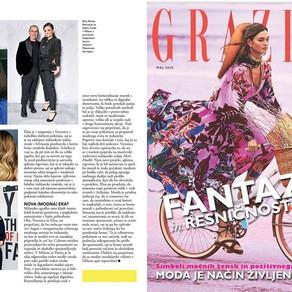 My interview on Grazia Slovenia