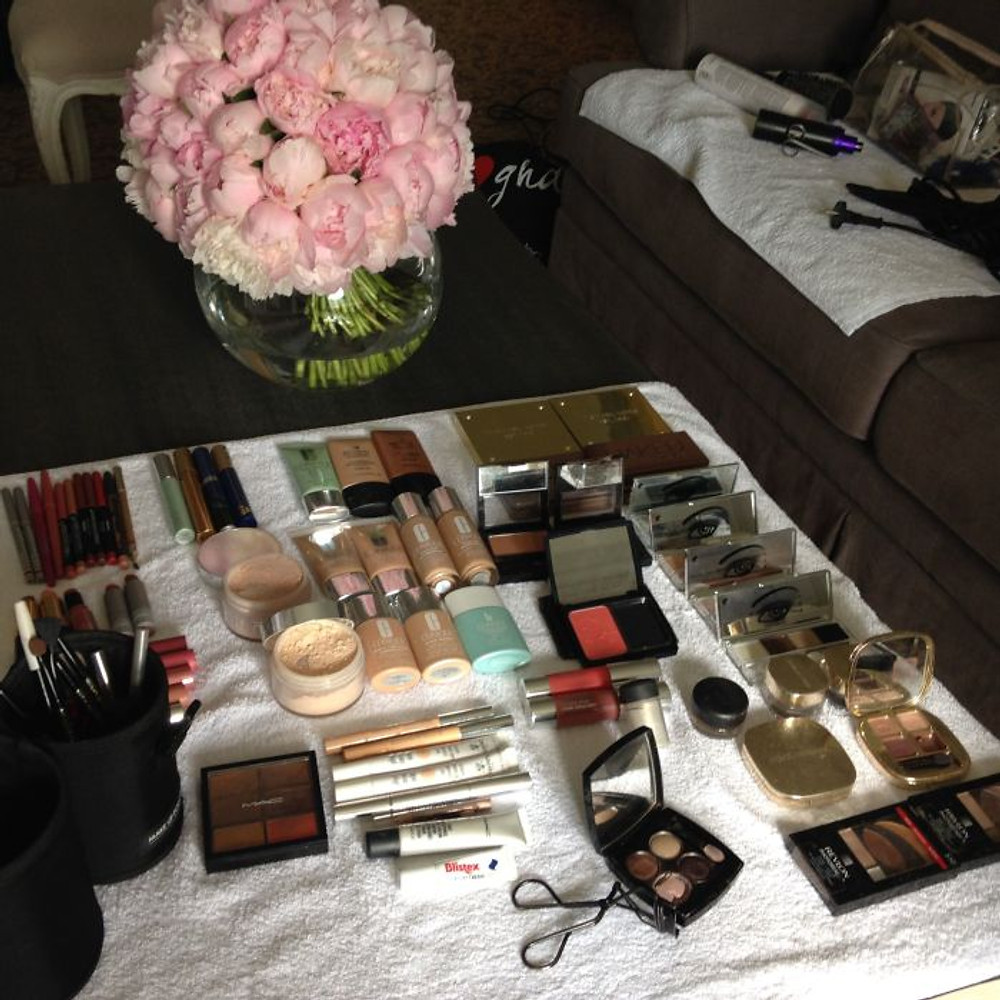 il tavolo del makeup