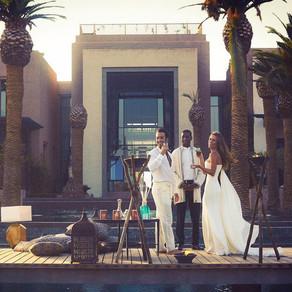 Lola Ponce e Aaron Diaz..3 giorni in Marocco per una benedizione rock