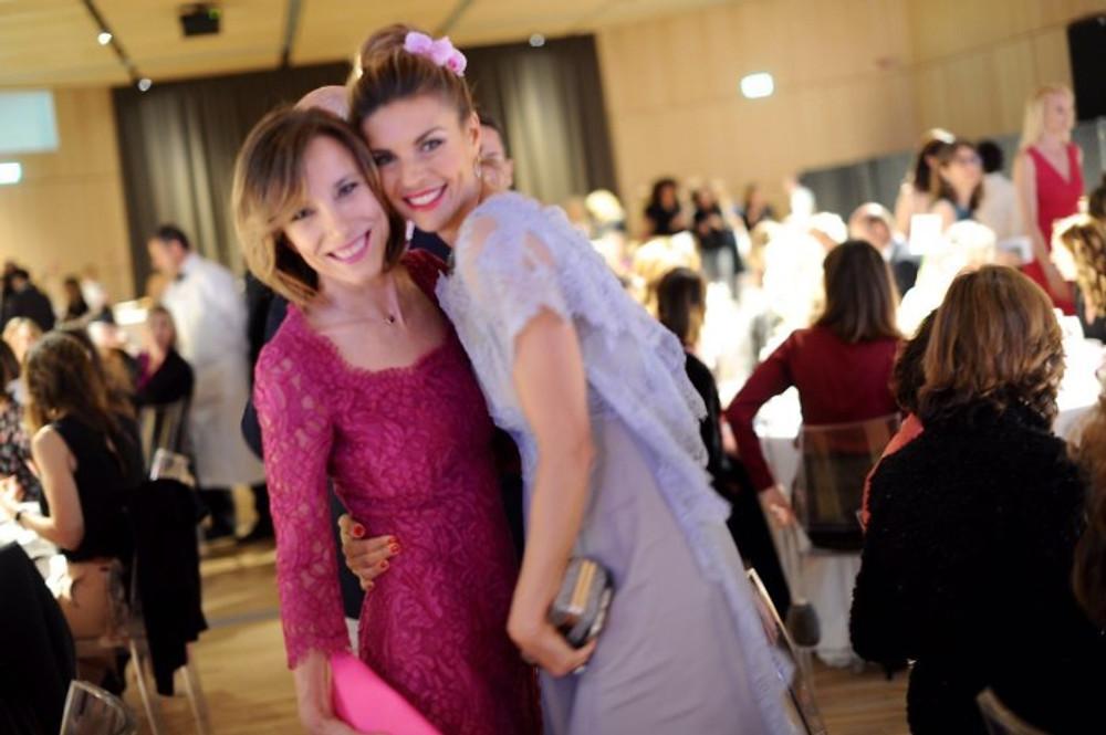 Silvia Grilli, direttore di Grazia e Martina Colombari