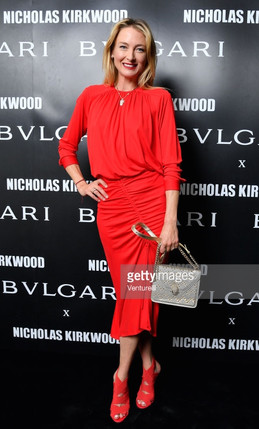 Princess LILLY WITTGENSTEIN Bvlgari Serpenti Forever by Nicholas Kirkwood Milano, 20 september 2017 Makeup Elisa Rampi Hair Germano Gambelluri