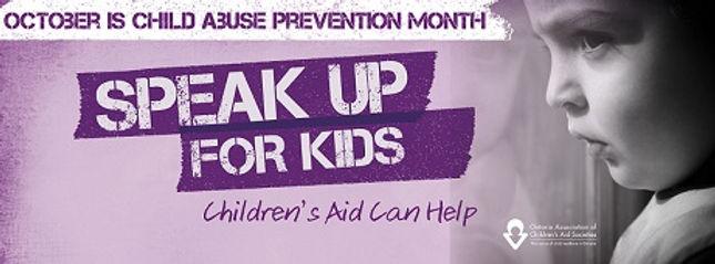 Speak up for kids