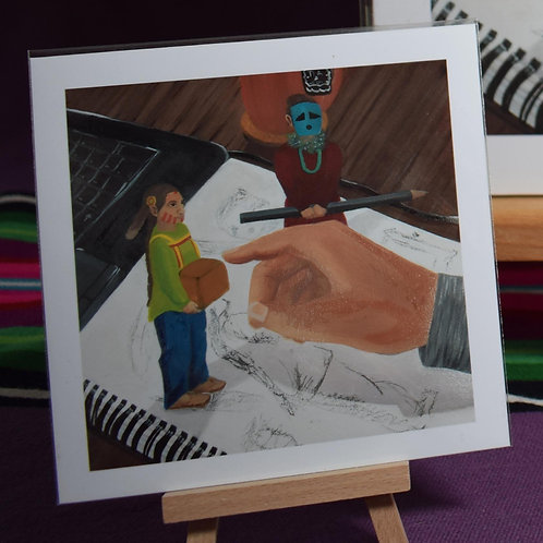 Little Playful Spirits | Small Prints