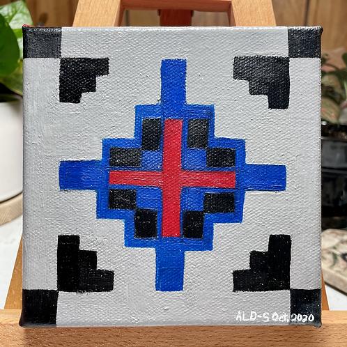 Navajo Design | Small Painting