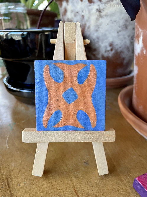 Sac & Fox Design | Tiny Painting
