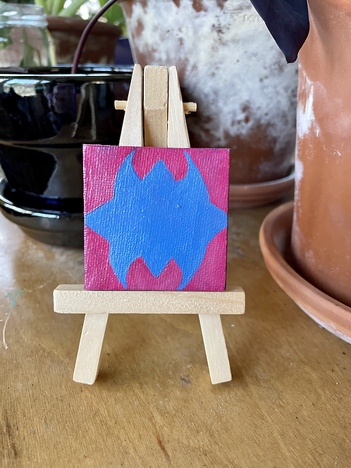 Sac & Fox Design | Tiny Painting