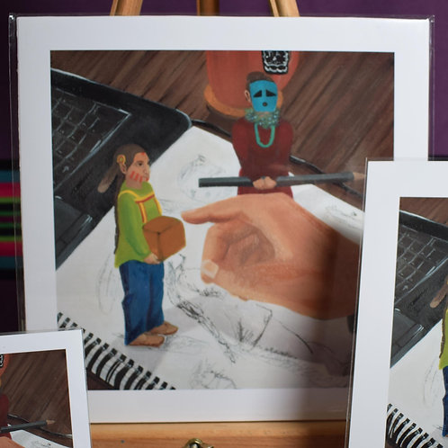 Little Playful Spirits | Large Prints