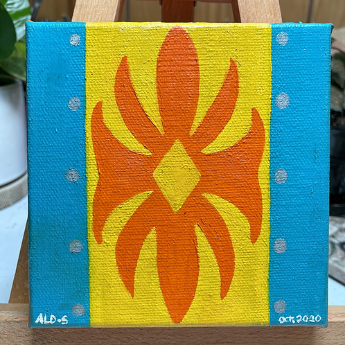 Sac & Fox Design | Small Painting