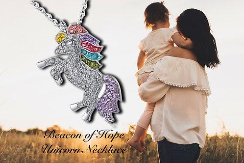 Beacon of Hope Unicorn Necklace