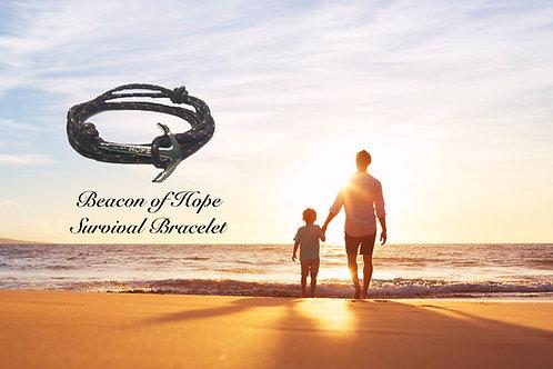 Beacon of Hope Survival Bracelet - Nylon