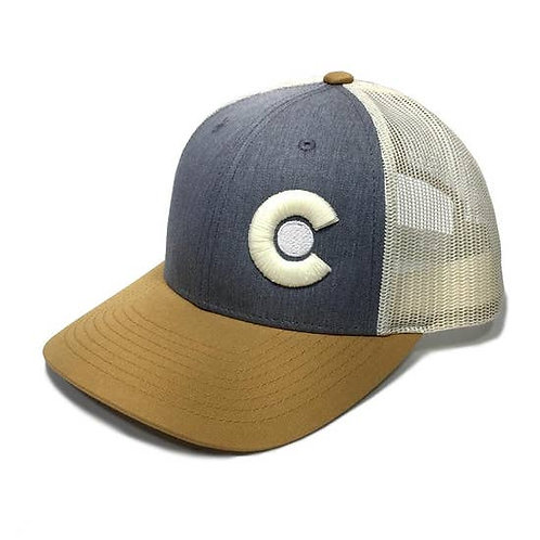 Yo Colorado The Excelerator Colorado Trucker Hat