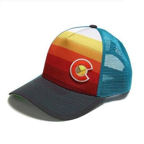 Yo Colorado Blue Mesh Trucker Hat