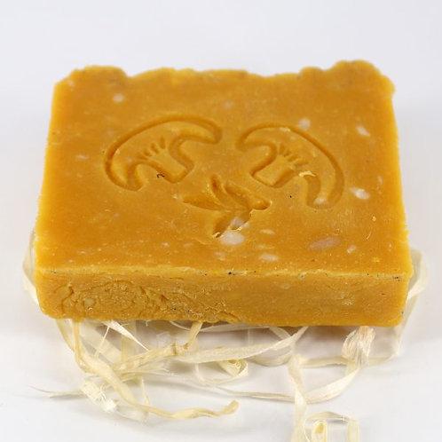 Натуральное мыло ручной работы «Лисичка и облепиха» • 100 г
