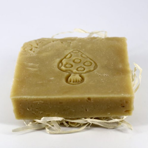 Натуральное мыло ручной работы «Мухомор и Ель» • 100 г