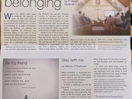 Parish newsletter, 10 April 2021