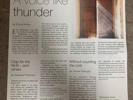 Parish newsletter, 21 March 2021