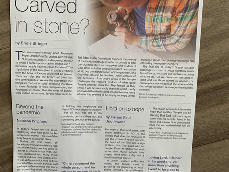 Parish newsletter, 6 March 2021