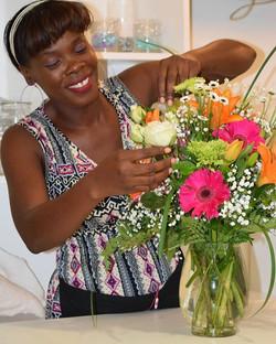 Floral Arrangement Antigua