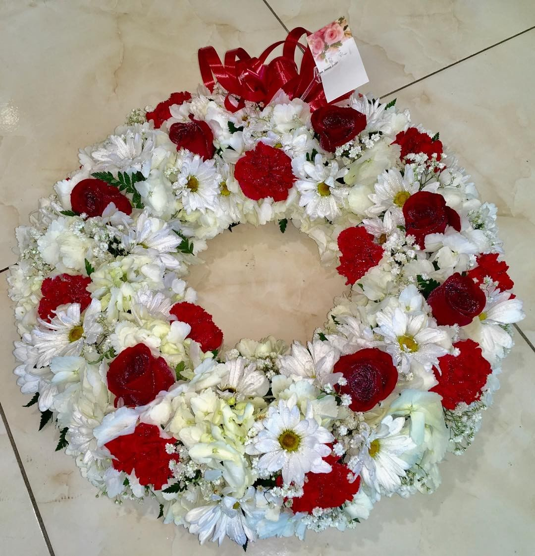 Funeral Wreath antigua