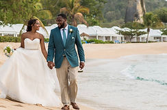 Destination Beach Wedding in Antigua & Barbuda
