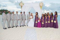 Beach wedding Antigua