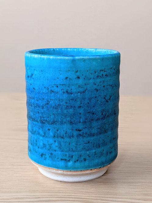 Tazza da tè in ceramica turchese