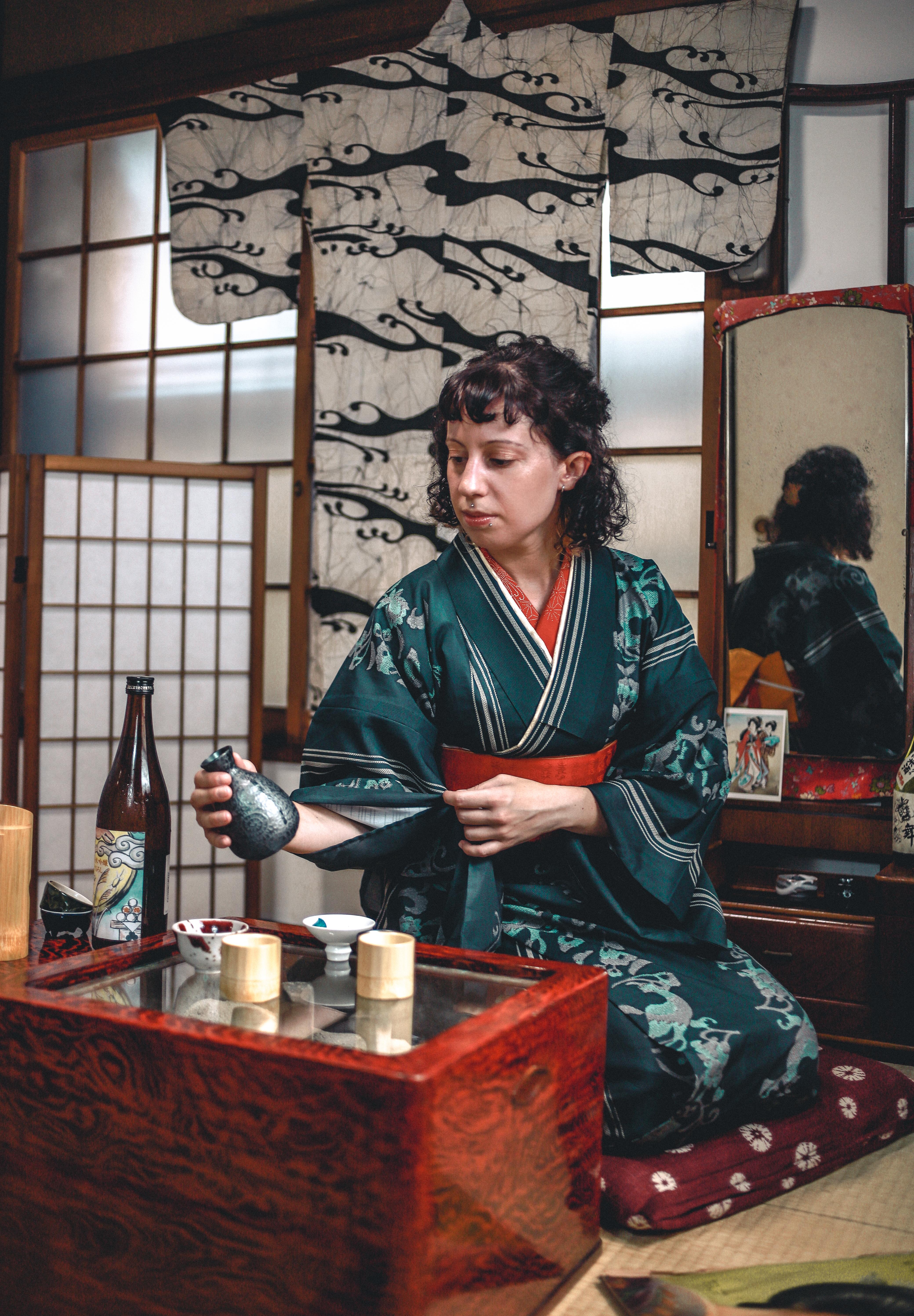 sake & kimono