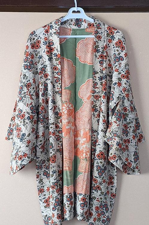 Flower Silk Haori