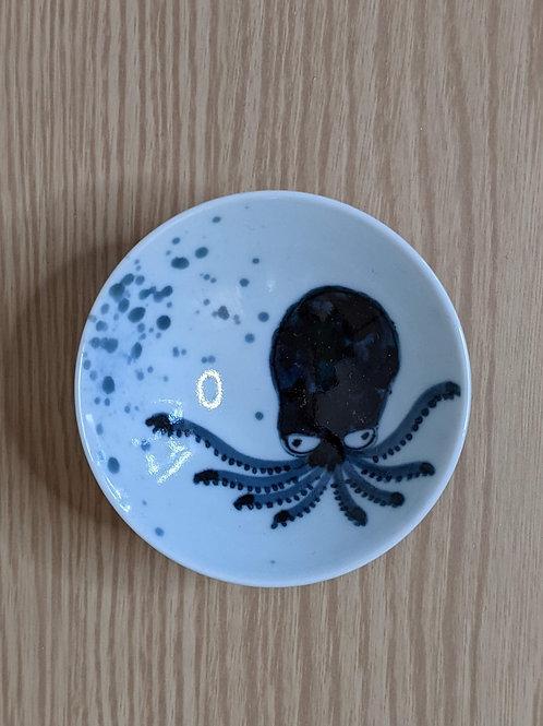 Tazza da sake con polipo