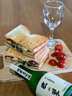 sake & sandwich